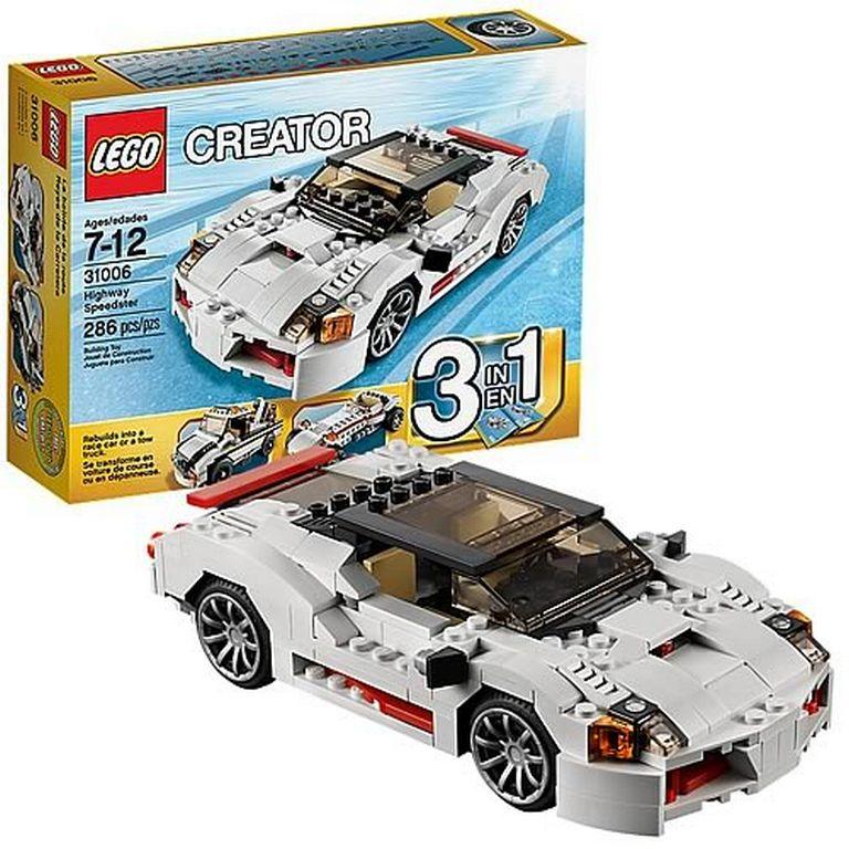 Конструктор Lego Спидстеры 3 в 1 31006