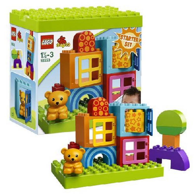 Конструктор Lego Строительные блоки для игры малыша 10553