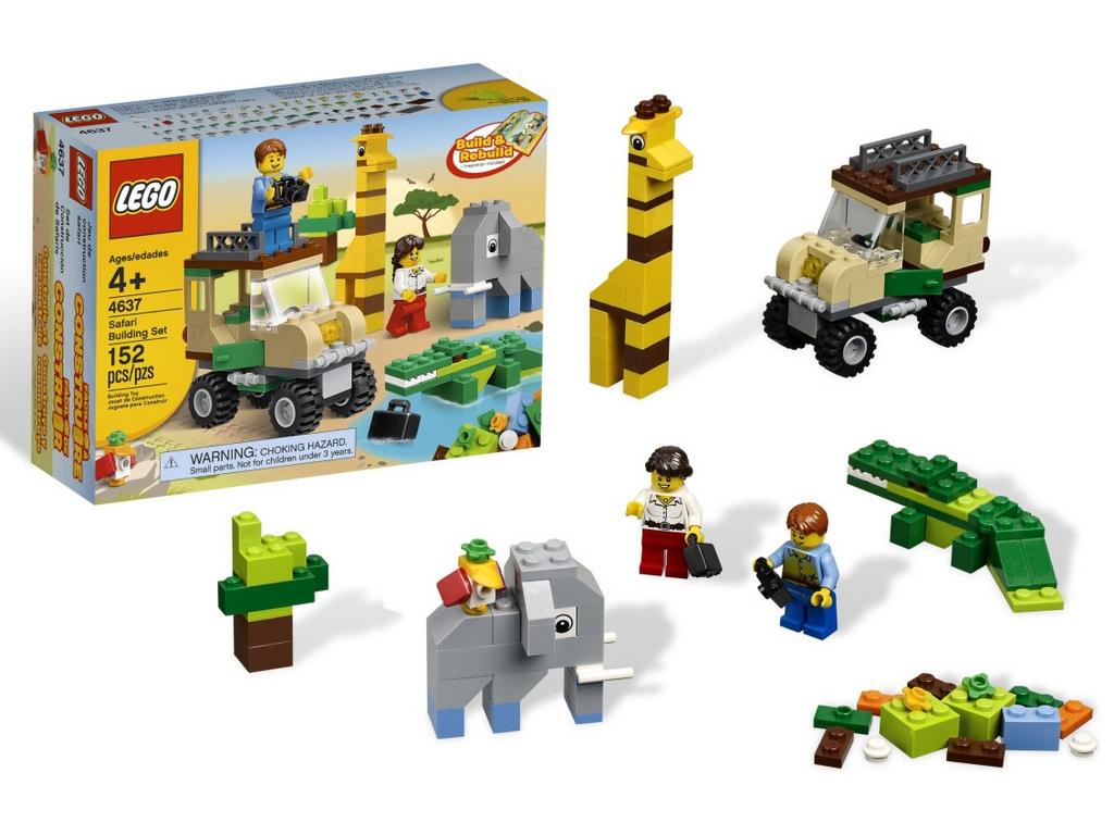 Конструктор Lego Строительный набор Сафари lego-4637