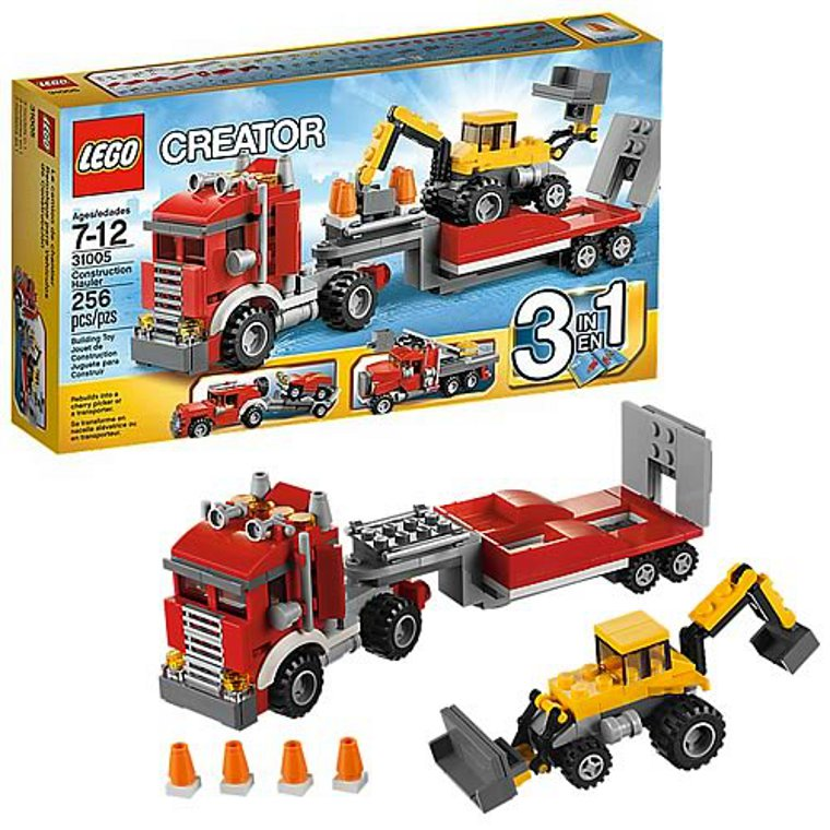 Конструктор Lego Строительный тягач 3 в 1 31005