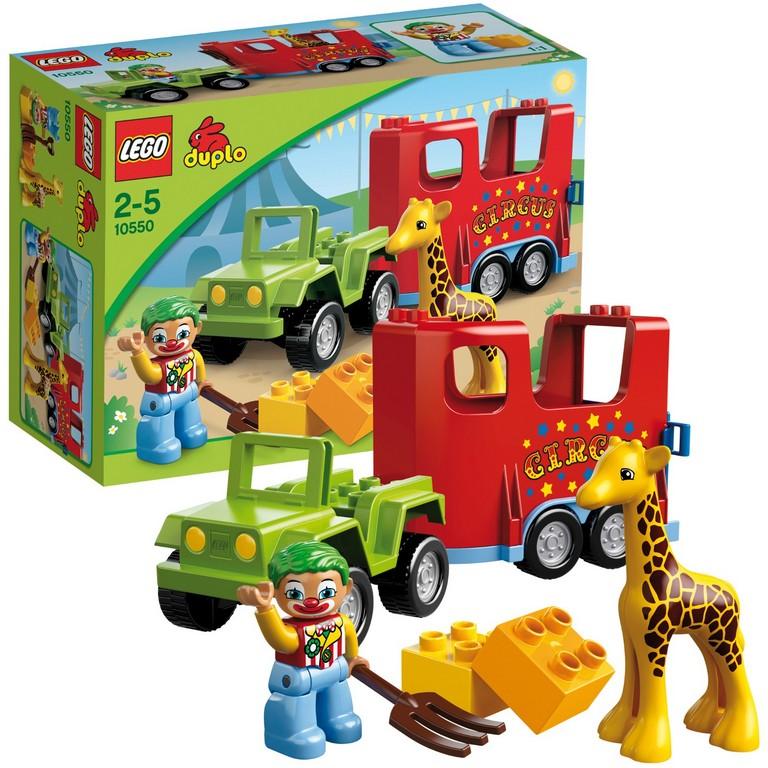 Конструктор Lego Цирковой автофургон 10550
