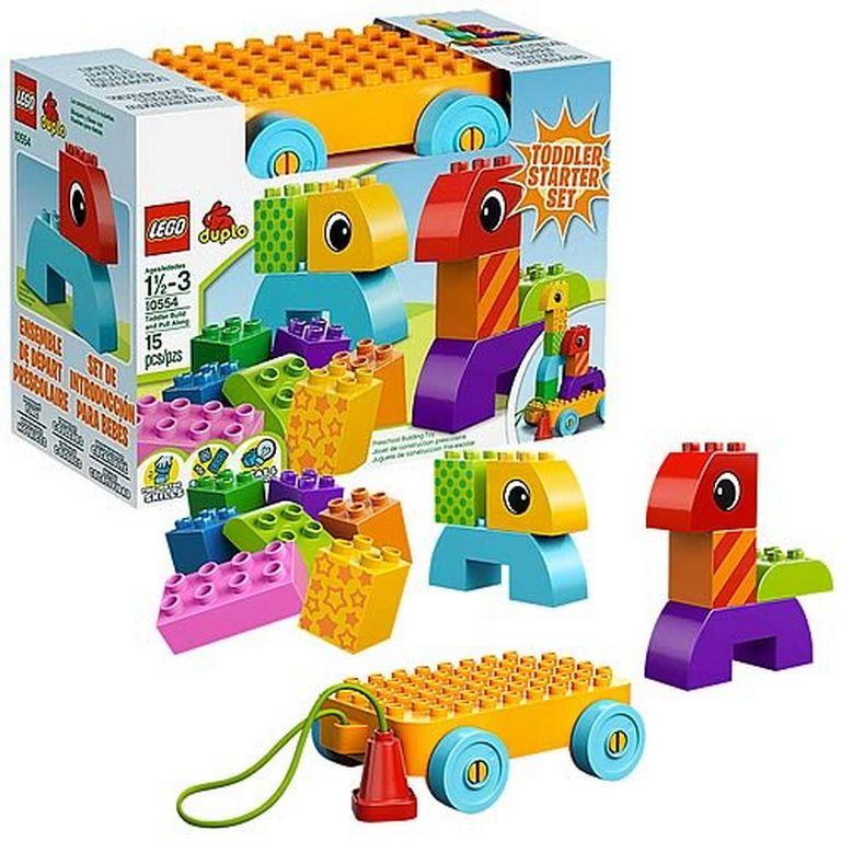 Конструктор Lego Веселая каталка с кубиками 10554