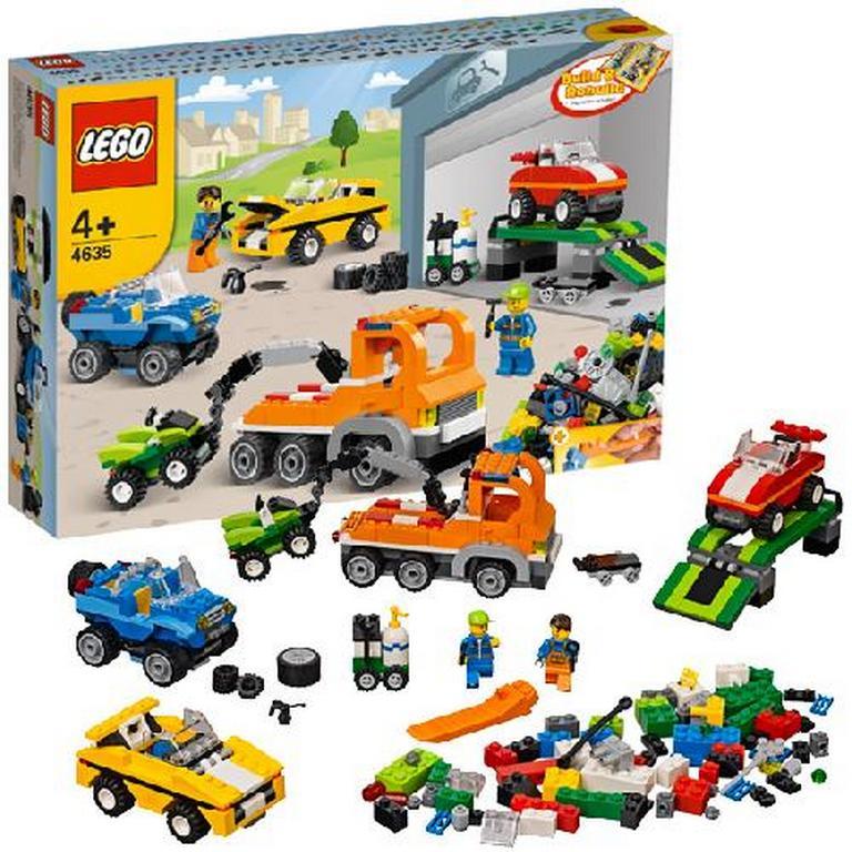 Конструктор Lego Веселый транспорт lego-4635