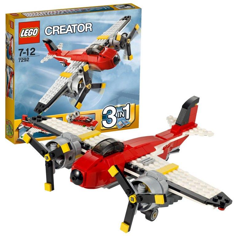Конструктор Lego Винтовой самолет lego-7292