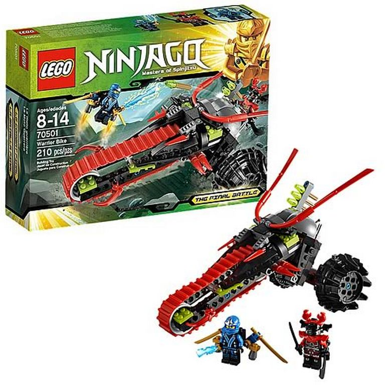 Конструктор Lego Воин на мотоцикле 70501