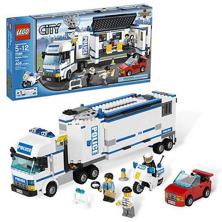 Конструктор Lego Выездная полиция lego-7288