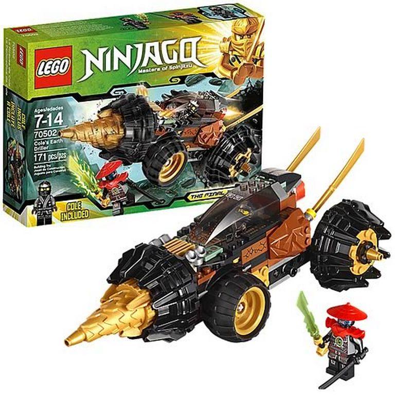 Конструктор Lego Земляной бур Коула 70502