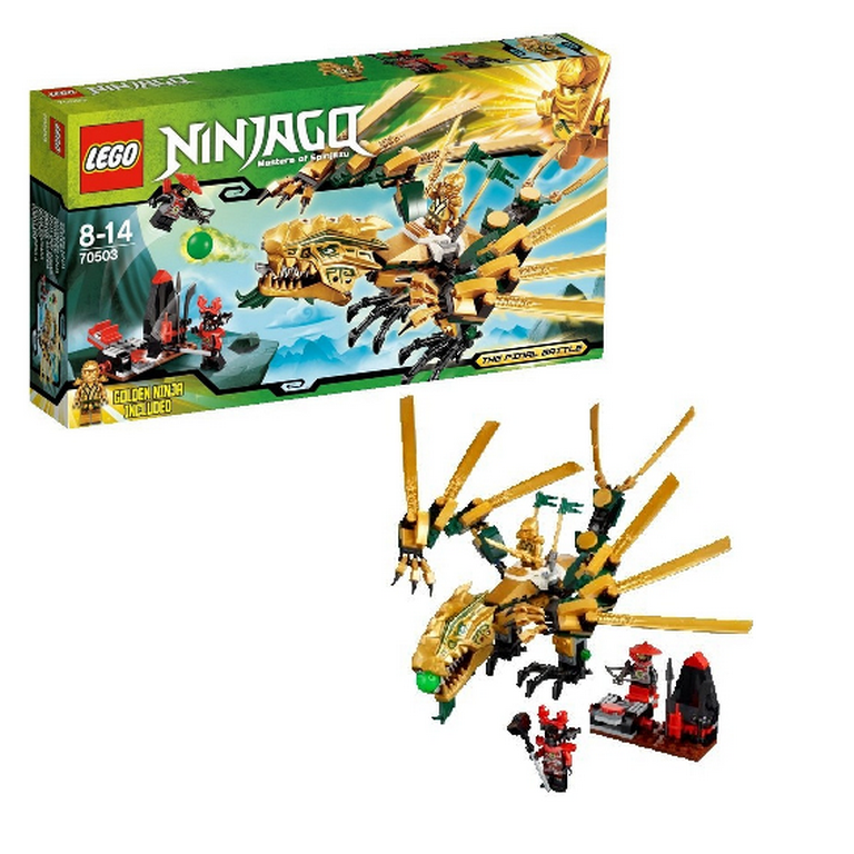 Конструктор Lego Золотой Дракон 70503