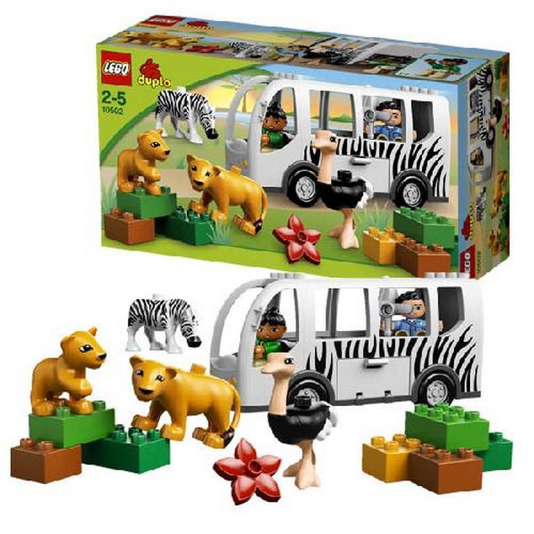 Конструктор Lego Зооавтобус 10502