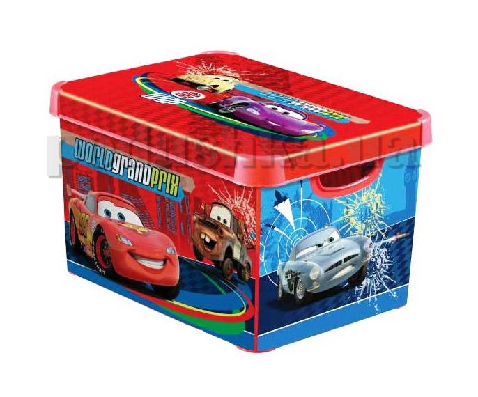 Коробка для хранения игрушек Curver 04711-D21 Машинка