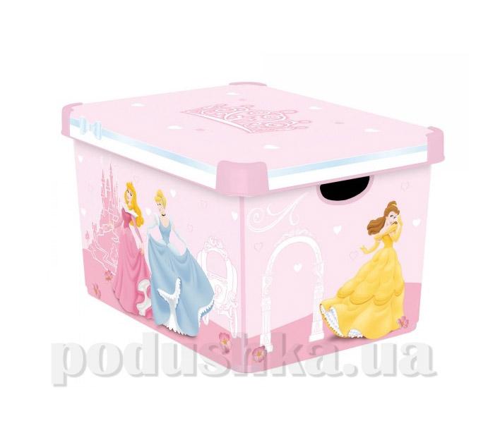 Коробка для хранения игрушек Curver 04711-P Принцессы