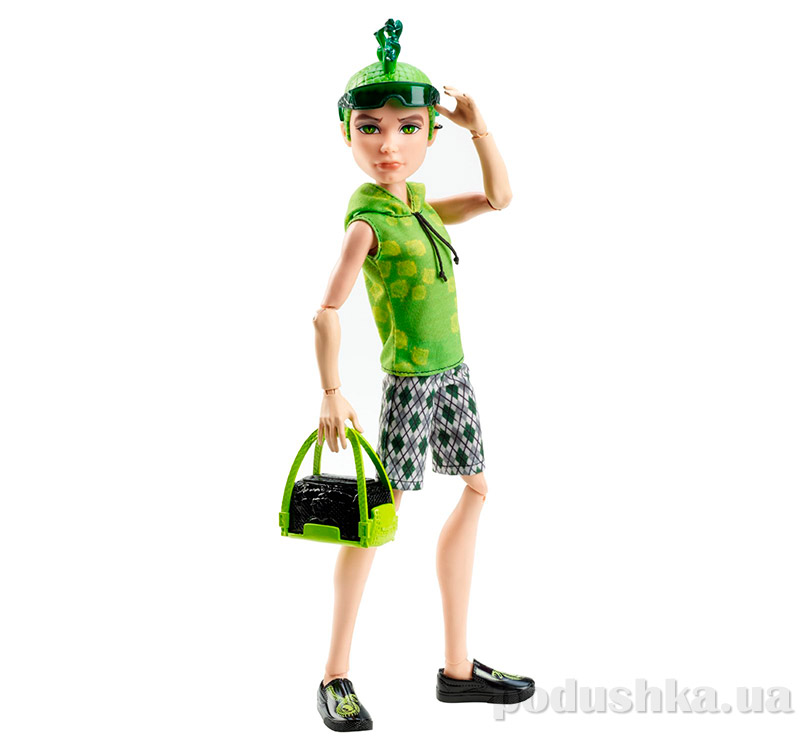 Monster High Basic Travel Deuce Gorgon Дьюс Горгон сын Горгоны Mattel