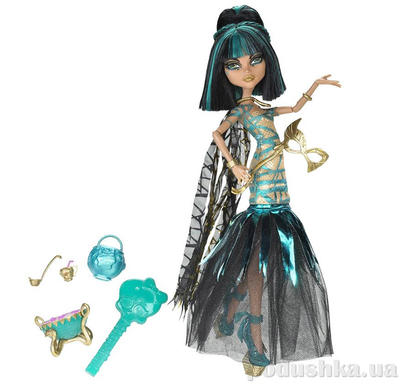 Кукла Monster High Ghouls Rule Cleo de Nile Mattel Клео Х3718
