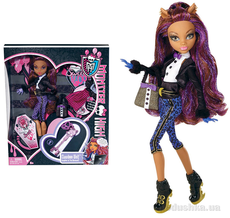 Кукла Monster High Mattel Sweet 1600 Clawdeen Wolf Клодин Вульф