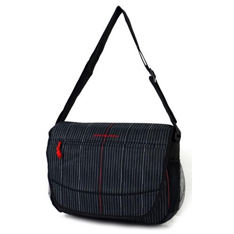 Молодежная сумка-почтальон Daniel Ray 42,42938 черная