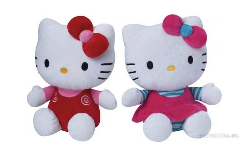 Мягкая игрушка Hello Kitty с бантиками 022014