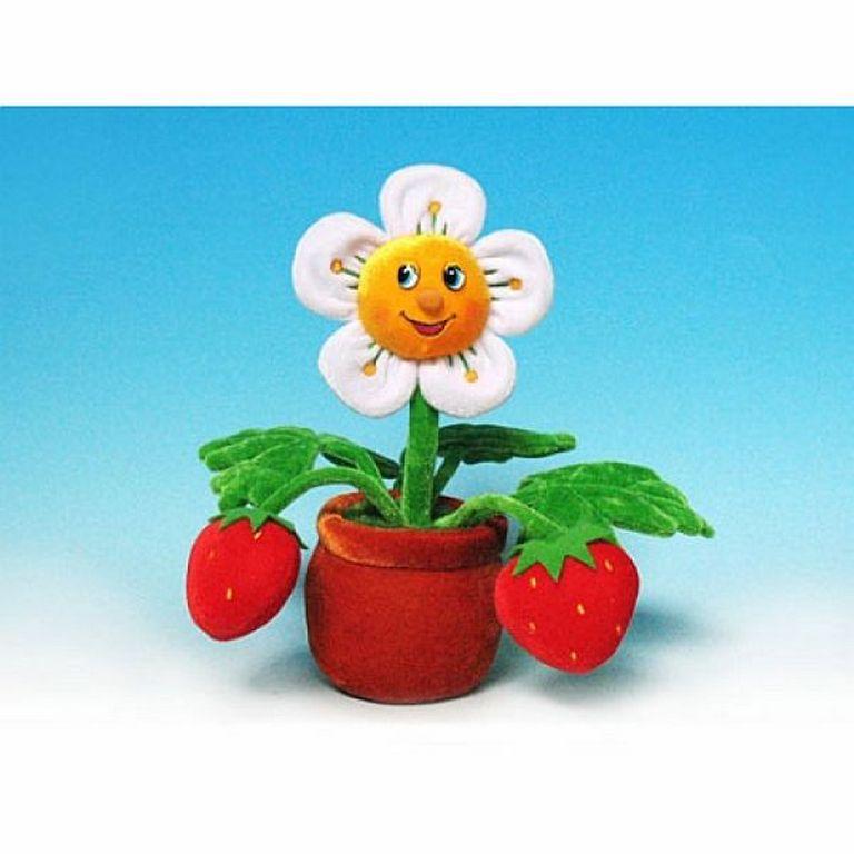 Мягкая игрушка Lava Земляника цветок LA8496s