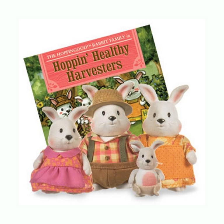 Набор фигурок Lil Woodzeez 6006Q Семья кроликов