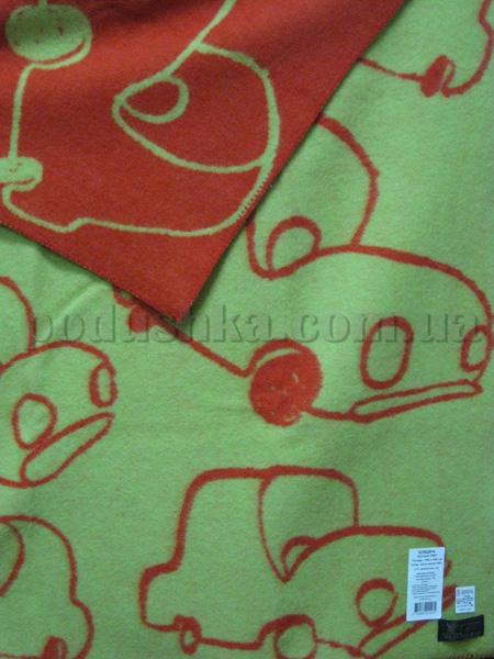 Одеяло детское Klippan Saule Машинка
