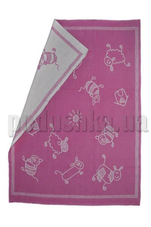 Одеяло детское WOT Хоровод розовый