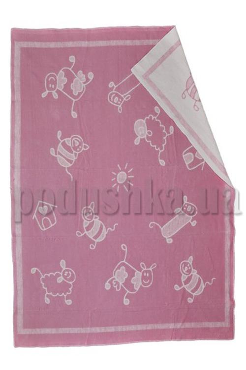 Одеяло детское WOT Хоровод светло-розовый