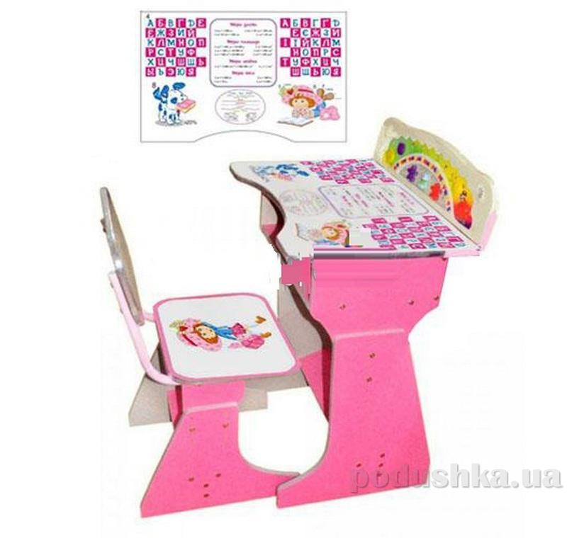 Парта Bambi (Metr+) HB 2075 Pink 52884