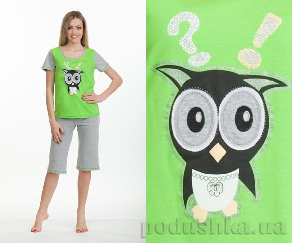 Пижама женская МТФ 02202ПВ