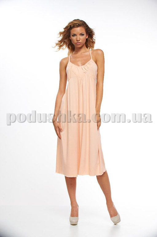 Платье домашнее Marissabell ERIN SPICY SALMON