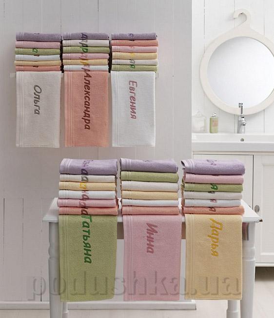 Подарочное полотенце TAC с вышивкой Женское имя