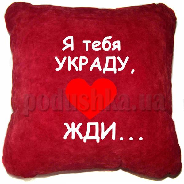 Подушка Я тебя украду.....