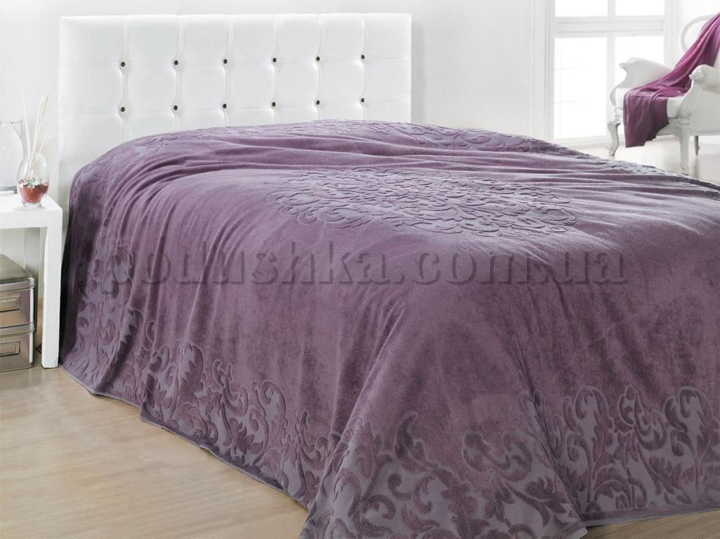 Покрывало ISSIMO RAVENNA PURPLE пурпурное