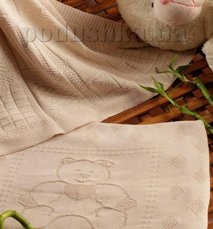 Покрывало детское Moda Voce Bamboo бежевое