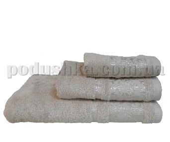 Полотенце махровое Home line Бамбук бежевое