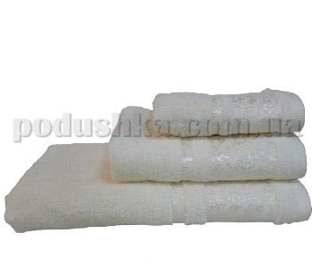 Полотенце махровое Home line Бамбук кремовое