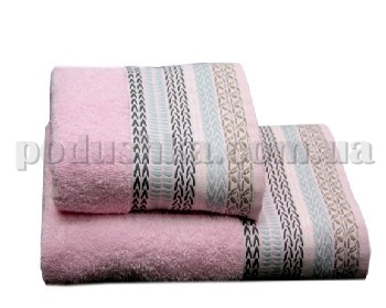 Полотенце махровое Home line Этно розовое