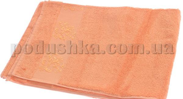 Полотенце махровое Maisonette Bambu оранжевый