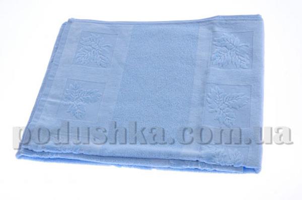 Полотенце махровое Maisonette Ceren голубой