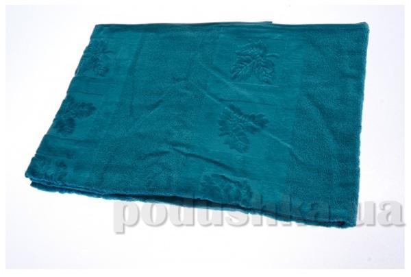 Полотенце махровое Maisonette Ceren темно-зеленый