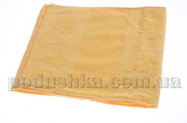 Полотенце махровое Maisonette Ceren желтый