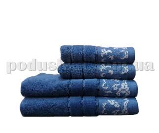 Полотенце махровое Shamrock Lara синее