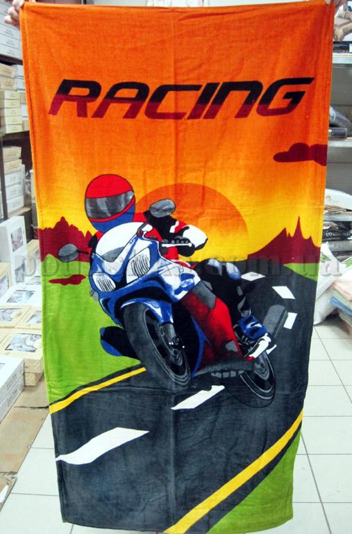 Полотенце пляжное Мотоцикл