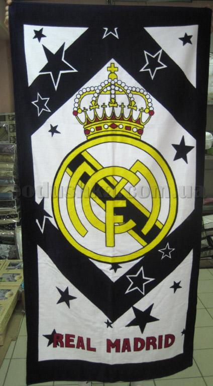 Полотенце пляжное Реал Мадрид