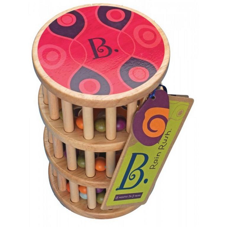 Развивающая деревянная игрушка Battat BX1170Z Шум дождя