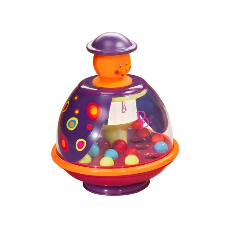 Развивающая игрушка Battat BX1037 Юла-сливка