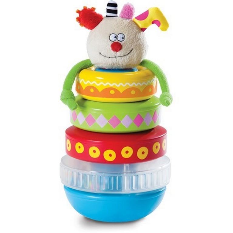 Развивающая игрушка Taf Toys 11365 Пирамидка Куки