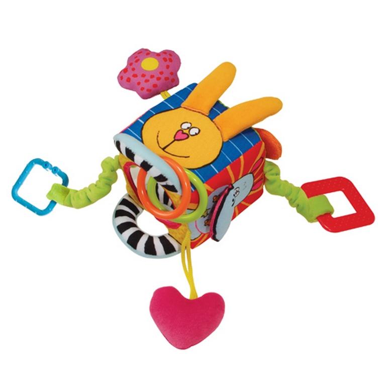 Развивающая игрушка-кубик Taf Toys 10765 Забавные Зверушки