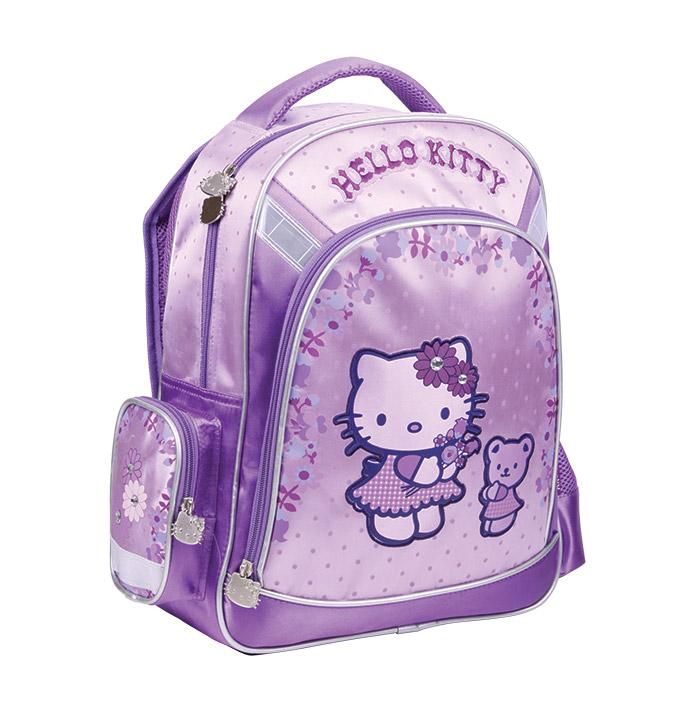 Рюкзак для девочек Kite Hello Kitty HK13-519K фиолетовый