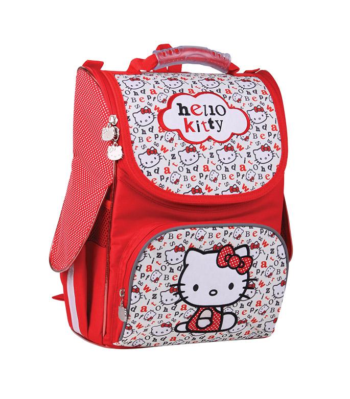 Рюкзак каркасный Kite Hello Kitty HK13-501-1K красный