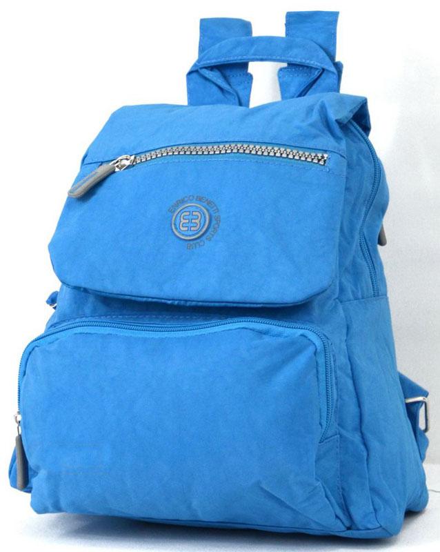 Рюкзак молодежный Enrico Benetti 53009030 голубой