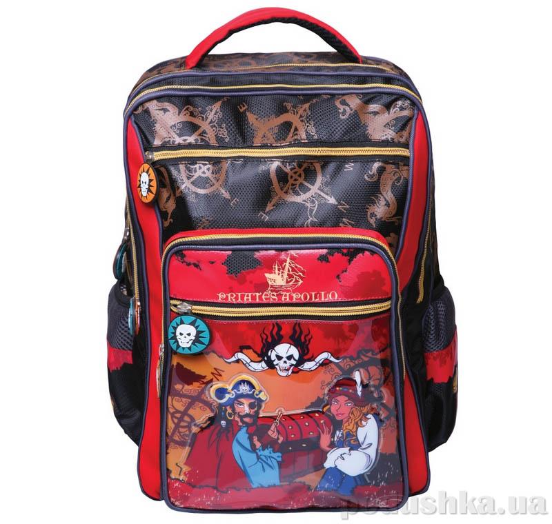 Рюкзак школьный Красные Пираты VGR